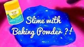 tutorial holy slime easy blue slime with baking powder tutorial pakfiles com