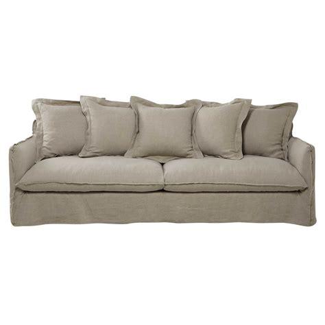 divano 5 posti divano beige corda in lino slavato 5 posti barcelone