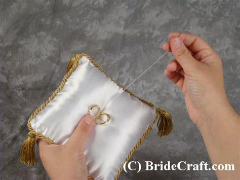 How To Make A Ring Bearer Pillow by Custom Ring Bearer Pillow