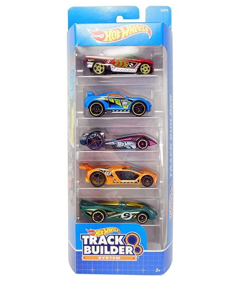 wheels track builder 5 cars pack buy wheels track builder 5 cars pack at low