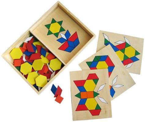 build a picture wooden shape arranging puzzle set at my