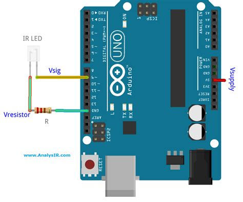 driving  infrared led    arduino pin