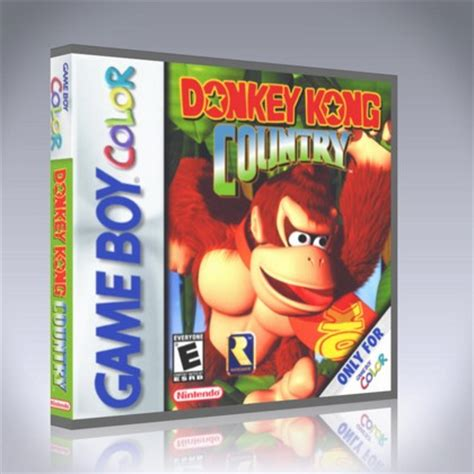 kong country gameboy color gameboy color kong country custom