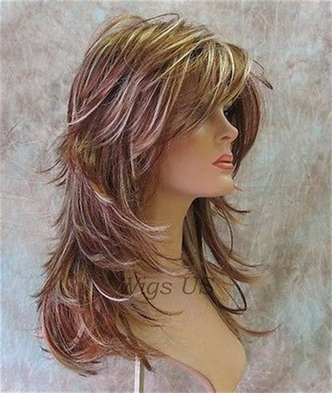 pictures of haircuts with lots of volume around crown 25 best ideas about long choppy haircuts on pinterest