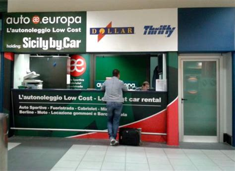 Auto Europa Sicily By Car by Collecting A Car Hire From Turin Airport
