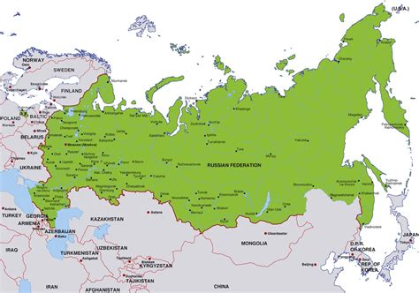 map of russia with cities in russia news articles russian news headlines and news