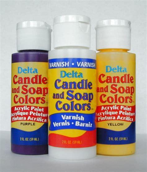 Soap Paints candle and soap stencil paint medium