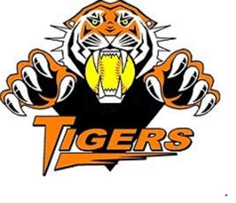 kaos baseball detroit tiger logo 3 softball