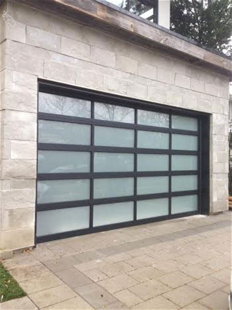 modern garage doors toronto aluminum garage doors windows and doors toronto