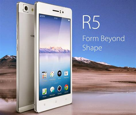 Garskin Oppo R5 5 2 Inch oppo r5 now the world s thinnest smartphone at 4 85mm only