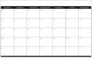 Free Blank Calendar Template 2014 by 7 Best Images Of Printable Blank Calendar