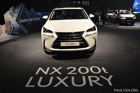 lexus nx malaysia lexus nx 200 malaysia autos post