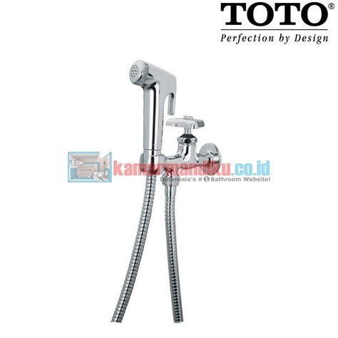 Jet Shower Toilet Shower Chrome Model Toto Wasser toto jet shower tb19csmcr distributor perlengkapan kamar