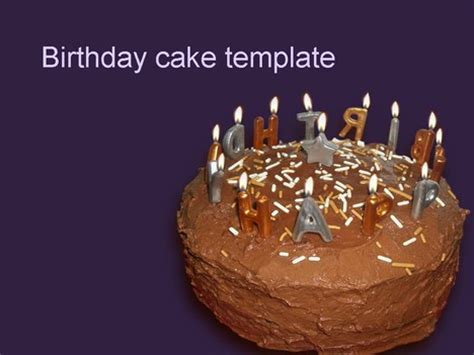 birthday cake template birthday cake template