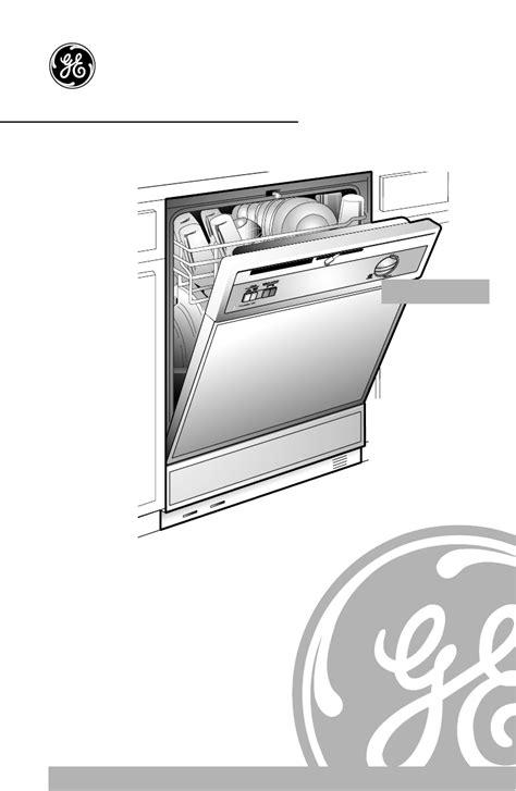 ge dishwasher manual ge dishwasher gsd500 user guide manualsonline