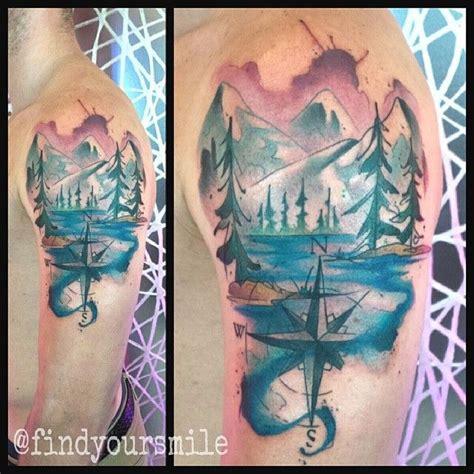 tattoo diamond creek 24 best mountain tattoo complete images on pinterest