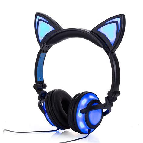Headphone Ear popular cat ear headphones buy cheap cat ear headphones lots from china cat ear headphones