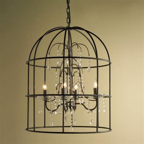 Cottage Style Chandeliers by Birdcage Chandelier Chandelier Shades Cottage