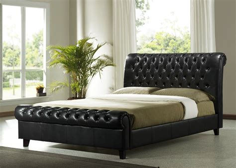 leather king bed richmond leather bed