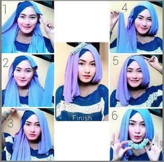 tutorial hijab segi empat simple elegan 15 tutorial hijab untuk wisuda modern simple dan terbaru