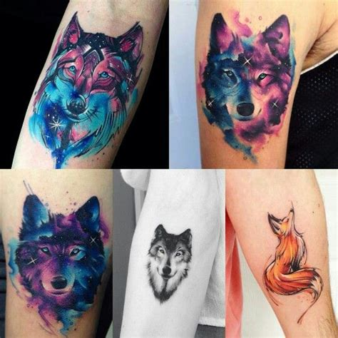 tattoo animal watercolor 25 best ideas about watercolor wolf tattoo on pinterest