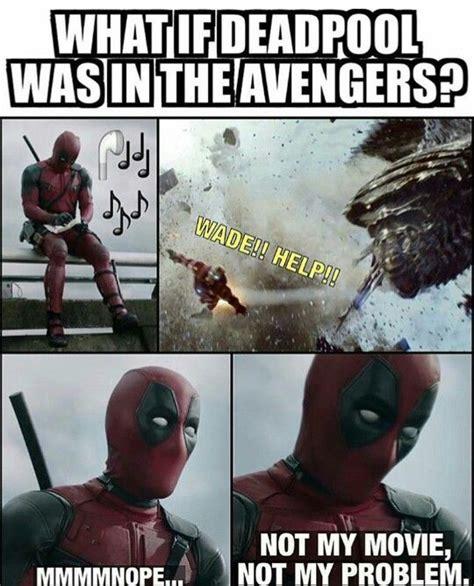 Deadpool Funny Memes - deadpool avengers yes i know i m a nerd pinterest