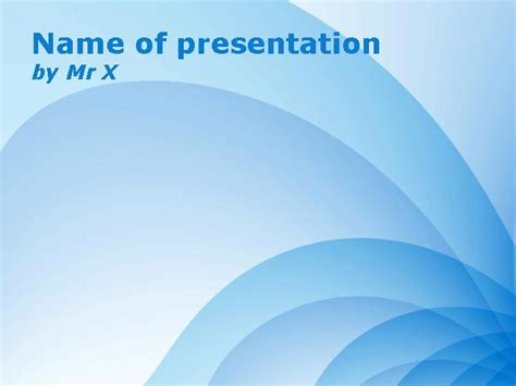 multiple themes in ppt multiple blue lines powerpoint template