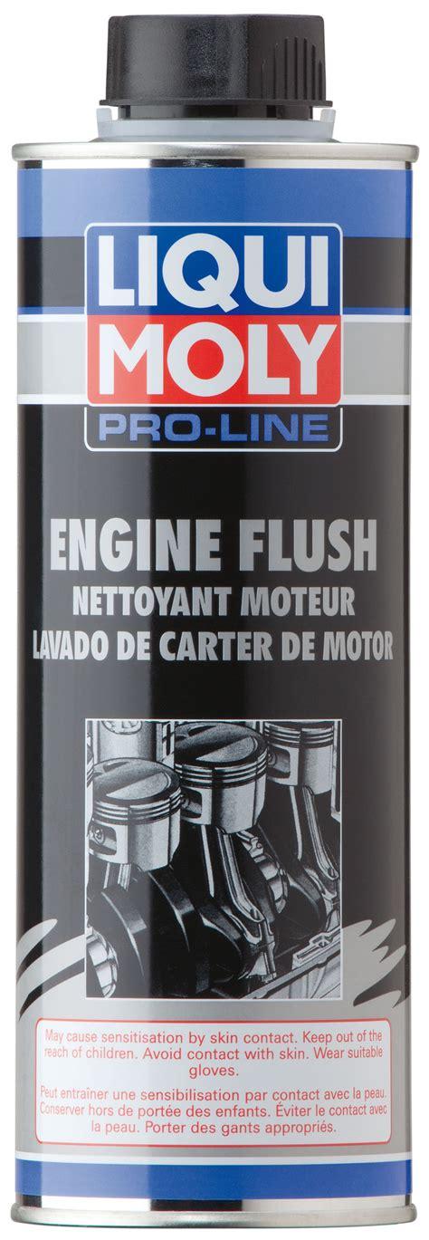 Liqui Moly Engine Detox Directions by Pro Line Engine Flush