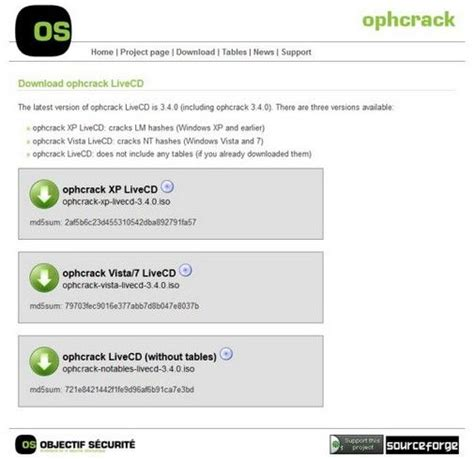 windows password reset live cd tutorial how to use ophcrack on windows 7 for password reset
