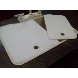 kitchen sink covers 19 quot x 25 quot 60 40 rv kitchen sink covers cream