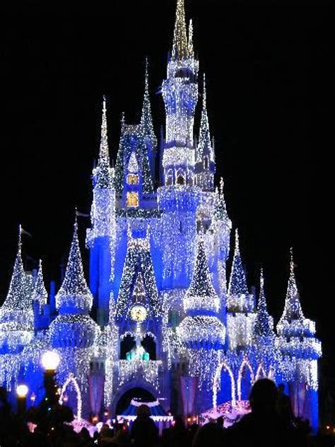 castle at christmas picture of disney's pop century