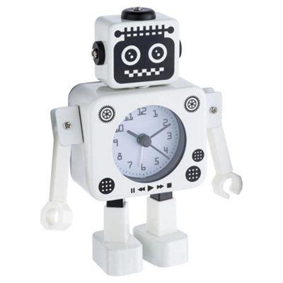 buy tesco robot alarm clock from our clocks range tesco