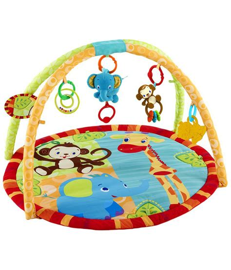 Sold Bright Starts bright starts multicoloured jamming jungle baby activity buy bright starts multicoloured