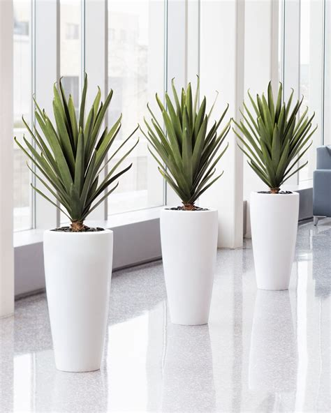 lifelike carefree agave artificial plant for home and