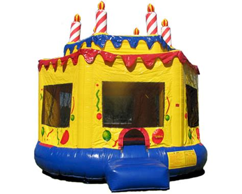 bouncing houses for birthday parties birthday cake bounce house bouncy house rental monroe ct