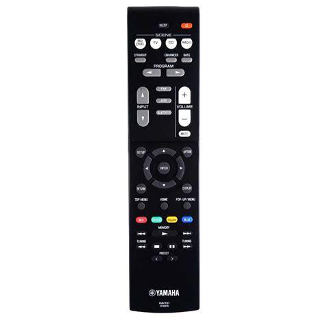 Remot Remote Parabola Receiver Skynindo new genuine yamaha rx v379 av receiver remote ebay