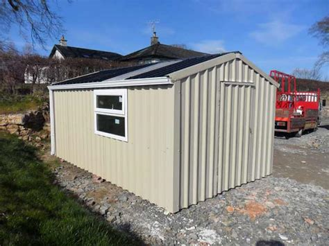 Dublin Sheds by Steel Sheds Dublin Quality Wood Effect Steel Sheds For Sale