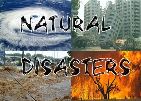 Natural disasters whitchurch primary school
