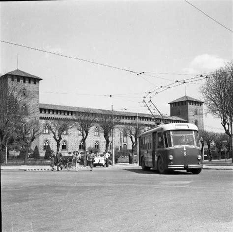 linee pavia la storia filobus a pavia