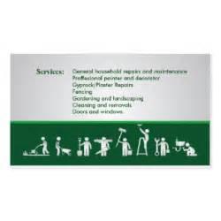 business cards handyman handyman business cards templates zazzle