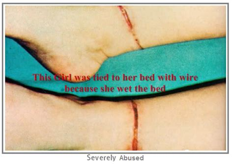 girls tied to bed the faces of child abuse warning gore children morbidreality