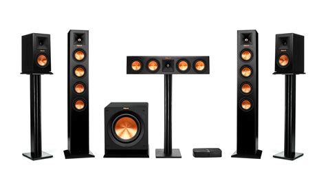 home theater system with wireless speakers reference premiere hd wireless home theater klipsch
