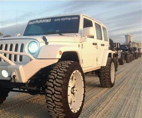 Lifted White Jeep White Lifted Jeep Underground Auto Jeeps