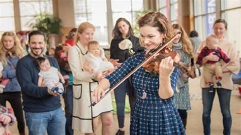 violinist hilary hahn gives concerts for babies news the strad