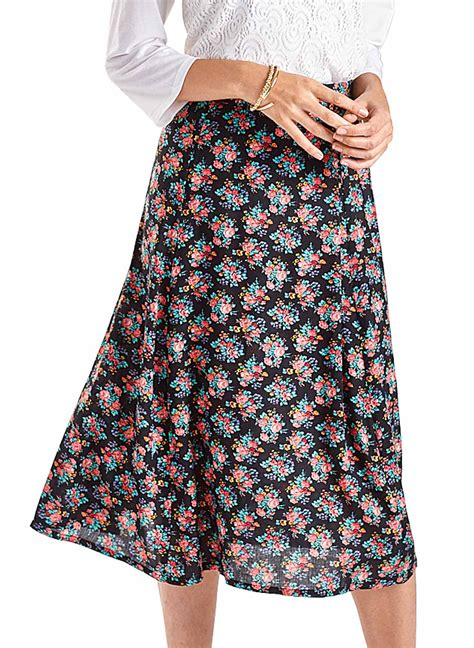 A Line Printed Skirt by A Line Printed Skirt Carolwrightgifts