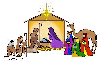 christmas scene clipart clipart best