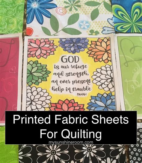 printable fabric sheets quilting printed fabric sheets for quilting my sunshine