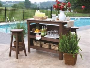 diy patio bar a diy outdoor bar outdoortheme