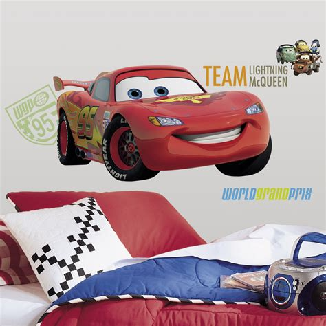 Sticker Cars Geant by G 233 Ant Flash Mcqueen Sticker Mural