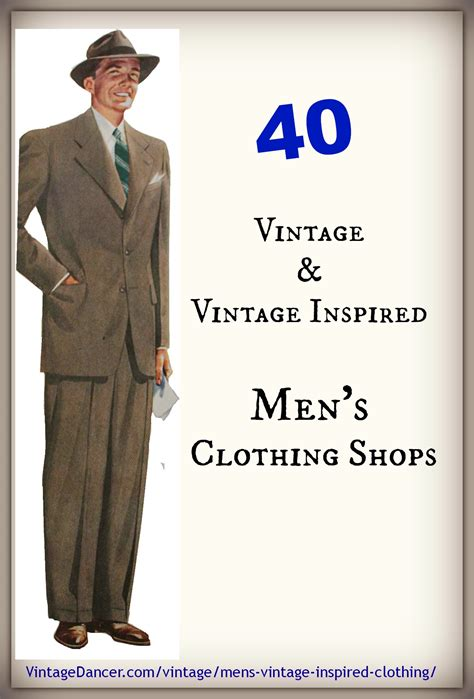 40 s vintage and vintage inspired clothing shops